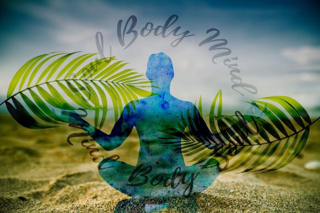 Durch Meditation Körper und Geist als Teil der Persönlichkeit in Einklang bringen